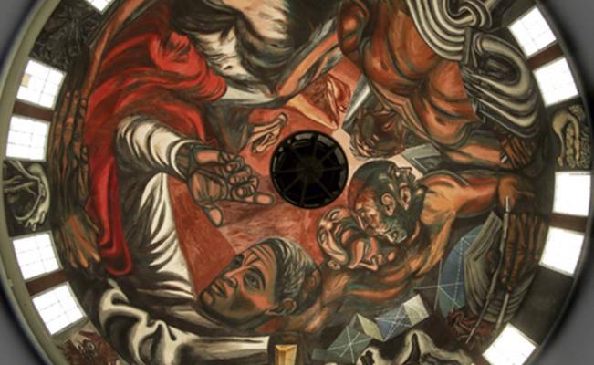 Murales de jos clemente orozco recuperan su brillo en for El mural guadalajara jalisco